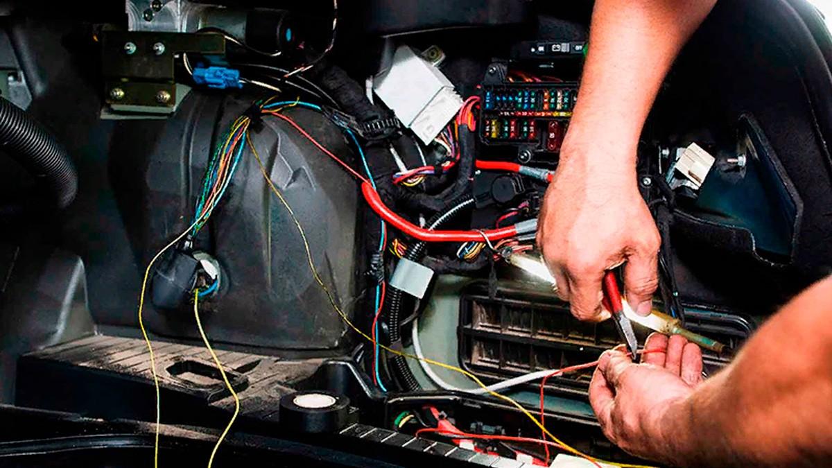 установка электрооборудования